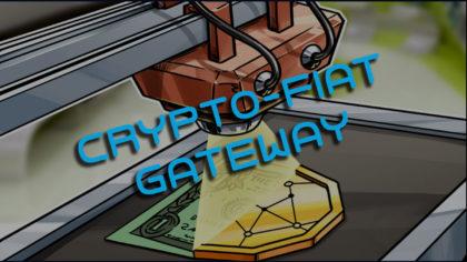Crypto-fiat gateway