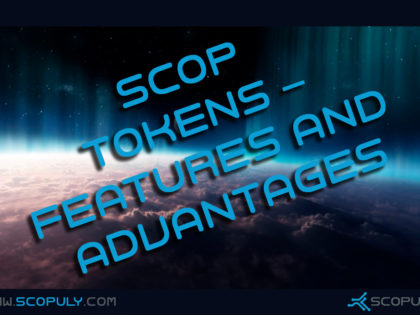 SCOP tokens – features and advantages